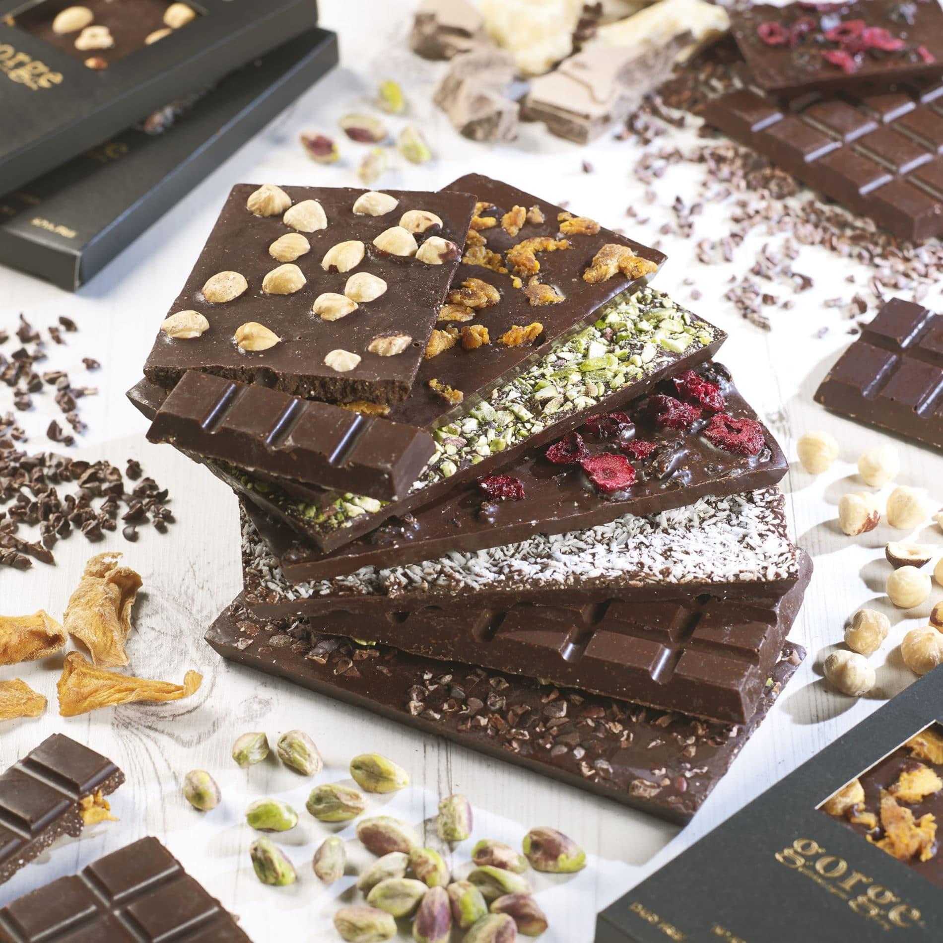 Raw Sugar Free Dairy Free Gluten Free Chocolate Bars